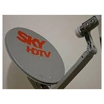 Antena 60 Cm Banda Ku+lnb Simples Universal + 20m Cabos