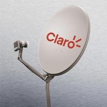 Antenas Banda Ku 60cm Cabo Rg6 Kit Fixação E Lnb Duplo