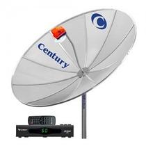 Antena Parabólica Century 1.70cm - Kit Completo