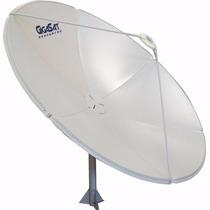 Antena Parabólica Fechada Chapa 1,80m Banda C Ku 180cm 1.80
