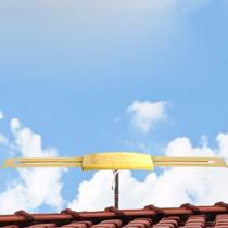 Antena Capte Ouro Amplificada 27db Externa V/uhf/fm/digital