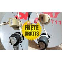 Kit Carona Ku 70w+61w Para Antenas De 60, 75 E 90cm