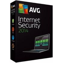 Avg Internet Security 2014 Licença P/ 3 Maquinas