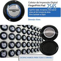 5 Coletor Impressão Digital 500 Coletas + 5 Sache P/ Limpeza