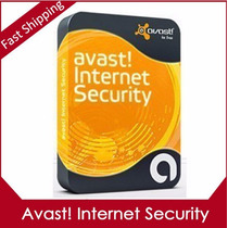 Avast Internet Security 2015 Software Chave 2 Anos 3 Pc