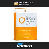 Avast Premier 2016 + Serial 100 % Original Melhor Que Avira