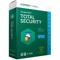 Kaspersky Pure Total Security 2016 - 3 Pcs - 2 Anos