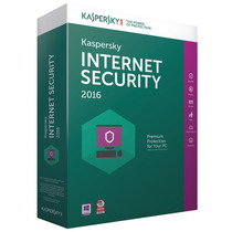 Kaspersky Internet Security 2016 - 3 Pcs 1 Original
