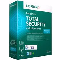 Kaspersky Total Security 2016 1 Dispositivo 1 Ano Original