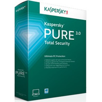 Kaspersky Pure Total Security 2016 - 1 Pc - 1 Ano