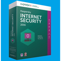 Kaspersky Internet Securitty® 2016 - 5 Pcs 1 Ano - Original