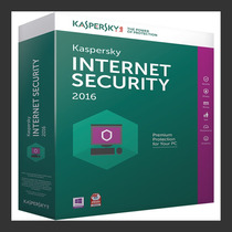 Kaspersky Internet Securitty 2016 - 1 Pc 1 Ano - Lançamento!