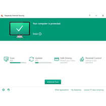 Kaspersky Internet Security (kis) 2016 - 1 Ano - 1 Pc
