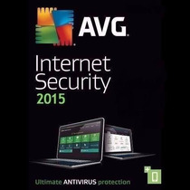Avg Internet Security 2015 3 Pcs 3 Anos Original