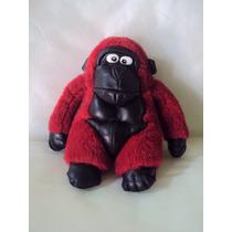 Macaco Pelúcia Anos 90 - Antigo