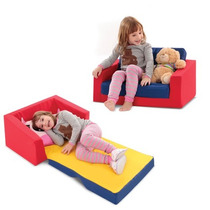 Sofá Cama Infantil Colorido 8014-1 Cortex