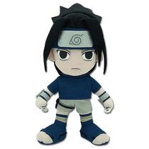 Plush Naruto Sasuke 8\ Macio Boneca Sd Chibi Ge7046