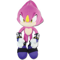 Plush Sonic The Hedgehog Espio 10.5'' Toy Boneca Ge5