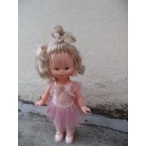 Boneca Bailarina Estrela Funcionando Bem Antiga