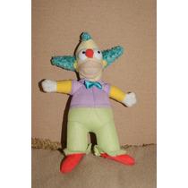 Boneco Antigo Família Simpson Homer - Pelucia