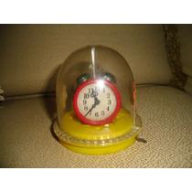 Brinquedo Antigo Kit Casinha Glasslite Á Corda