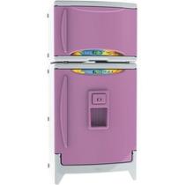 Refrigerador Geladeira Infantil Duplex Casinha Flor- Xalingo