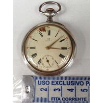 Relógio De Bolso Antigo Omega Raro Lindo Para Restauro