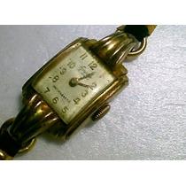 Exacto - Antigo Relogio De Pulso Plq Ouro - Coleção