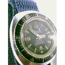 Raro Cronel Scuba Waterproof 17 Rubis Antigo Watch - Coleção
