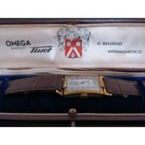 Relógio Omega Tissot A Corda P. Ouro Perfeito. Rarissimo!!!