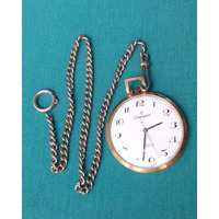 Relógio De Bolso Champion 17 Rubis Incabloc