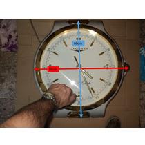 Relógio Longines Folhado A Ouro Suíço Gigante Raro Outdoor