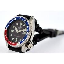 Relogio Seiko Mod4205 Pepsi 150m Dive Automatico Importado