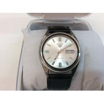 Relógio Seiko Cinco Automático Fundo De Vidro