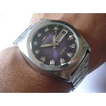 Relógio Technos Galaxy Automático Antigo Coleçao Suiço