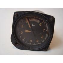 Antigo Instrumento De Aviação - Velocímetro Velocidade Avião