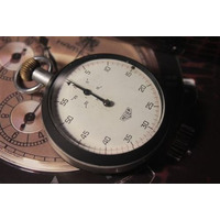 Cronômetro Heuer Antigo - Funcionamento Perfeito
