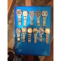 Relógios Orient Automáticos Fundo Azul E Branco Unidade