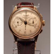 Relógio Cronógrafo - Bovet Freres Cie & Sa Landeron 48 Crono