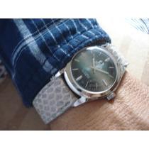 Relógio Suíço Titus Pulso Antigo Coleção 17 Joias Aço