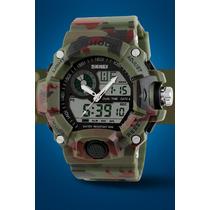 Relógio Masculino S-shock Quartz Aprova D´agua 50mt