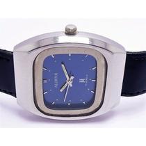 Relógio Allwyn Made In Japan A Corda Caixa Aço