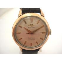 Relógio Movado Aço/ouro Automático Suiço Antigo
