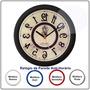 Relógio De Parede Anti Horário