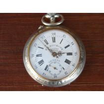 Excepcional Relógio De Bolso F.e. Roskopf Patent - Anos 1930