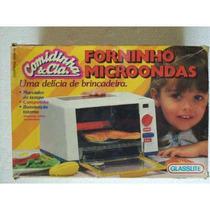 Brinquedo Antigo Glasslite Forninho Microondas Anos 80