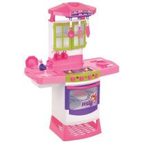 Cozinha Infantil Mágica Eletrônica Super Magic Toys Fogão