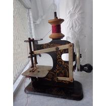 Antiga Mini Maquina De Costura De Lata Brinquedo
