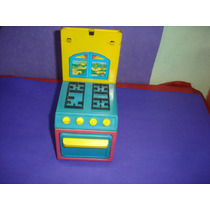 Brinquedo Antigo Mini Fogãozinho De Lata Marca Bandeirante