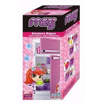 Geladeira Infantil Rosa Meg - Magic Toys
